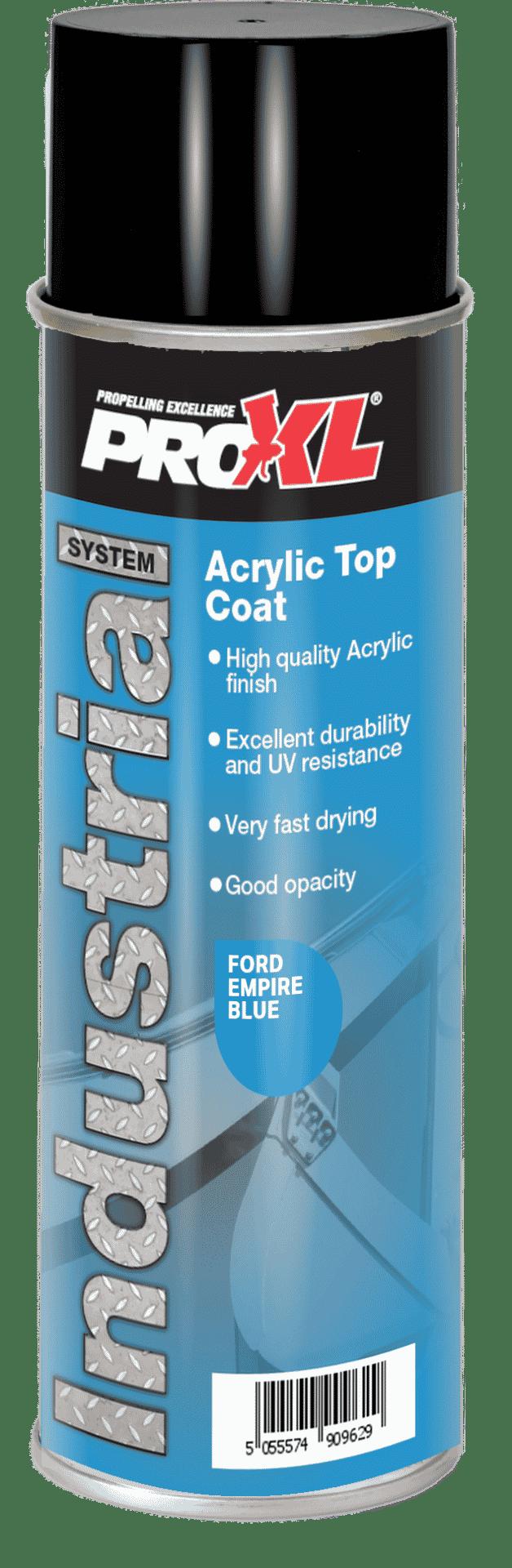 Acrylic Topcoat Aerosol – Safety Colours (500ml) Product Image