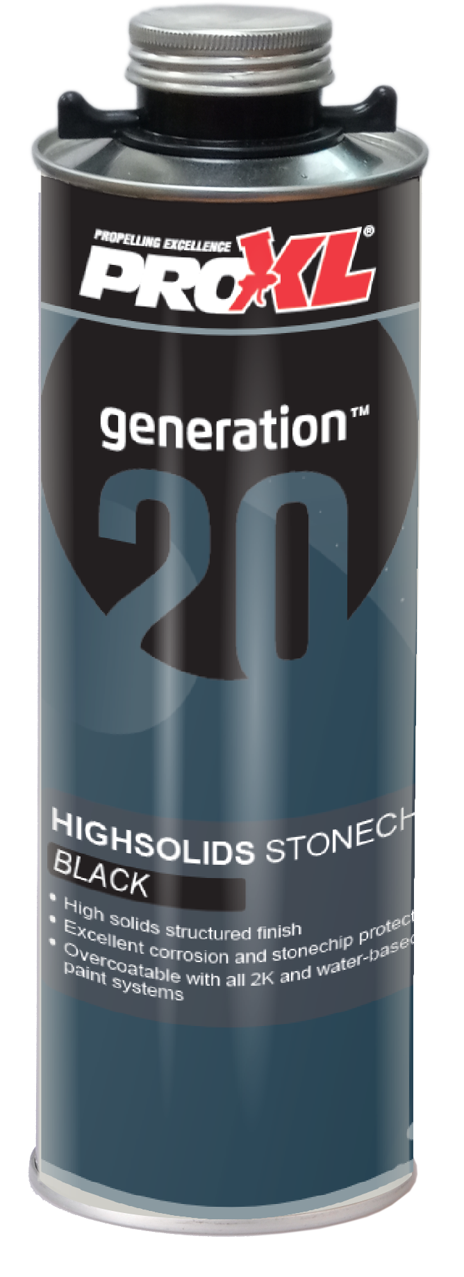 StoneChip High Solids Black (1lt) Product Image