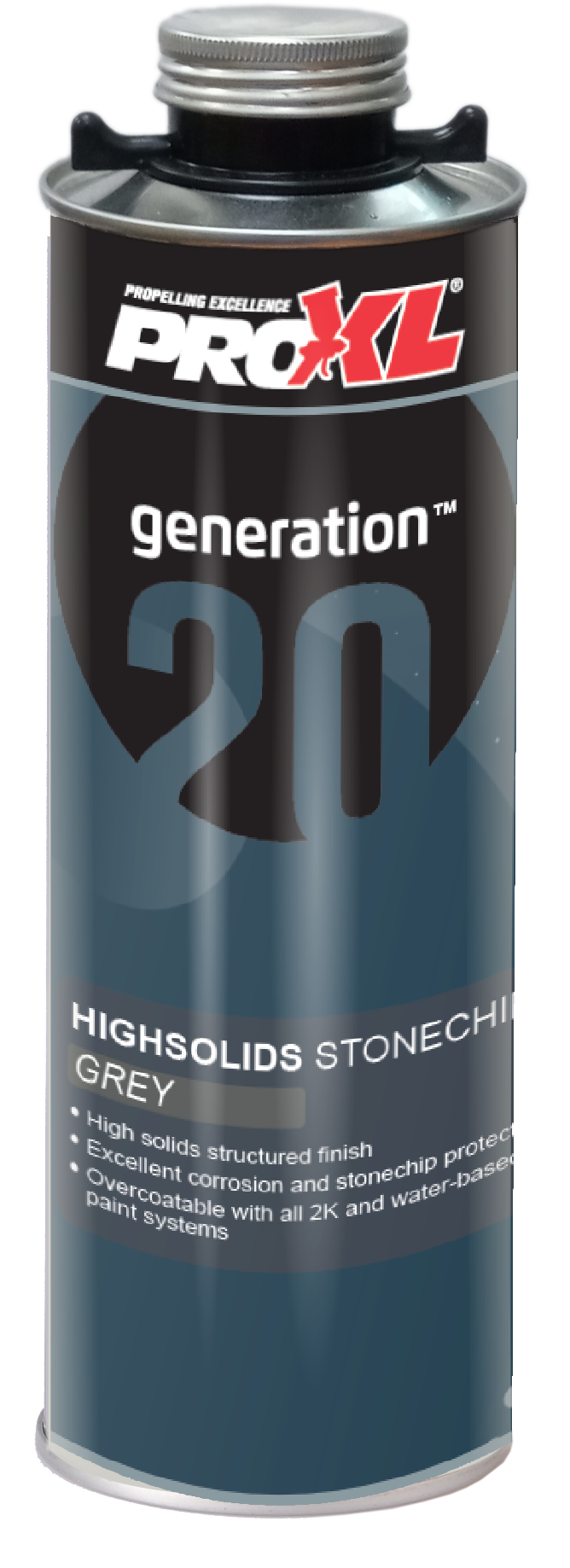 StoneChip High Solids Grey (1lt) Product Image