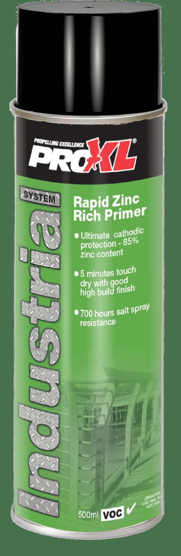 Rapid Zinc Rich Primer Aerosol (500ml) Product Image