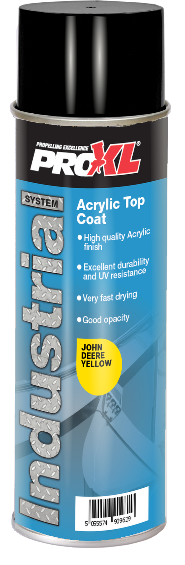 Acrylic Topcoat Aerosol – Agricultural/Construction colours (500ml) Product Image