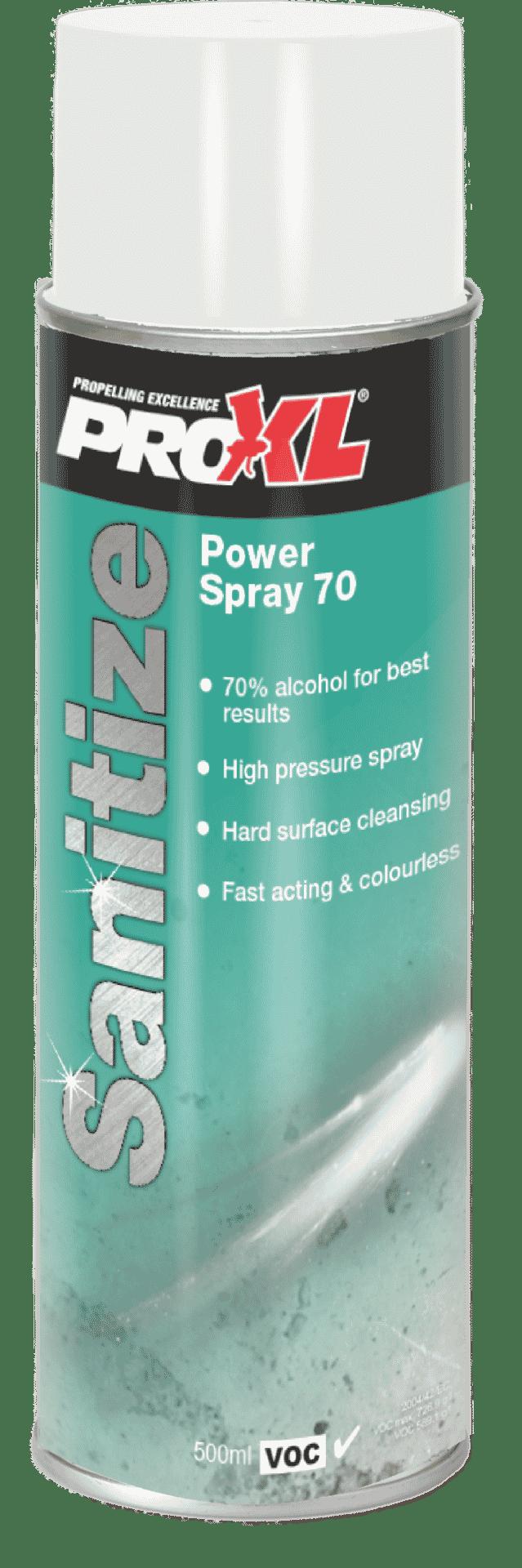 Power Spray 70 Aerosol (500ml) Product Image