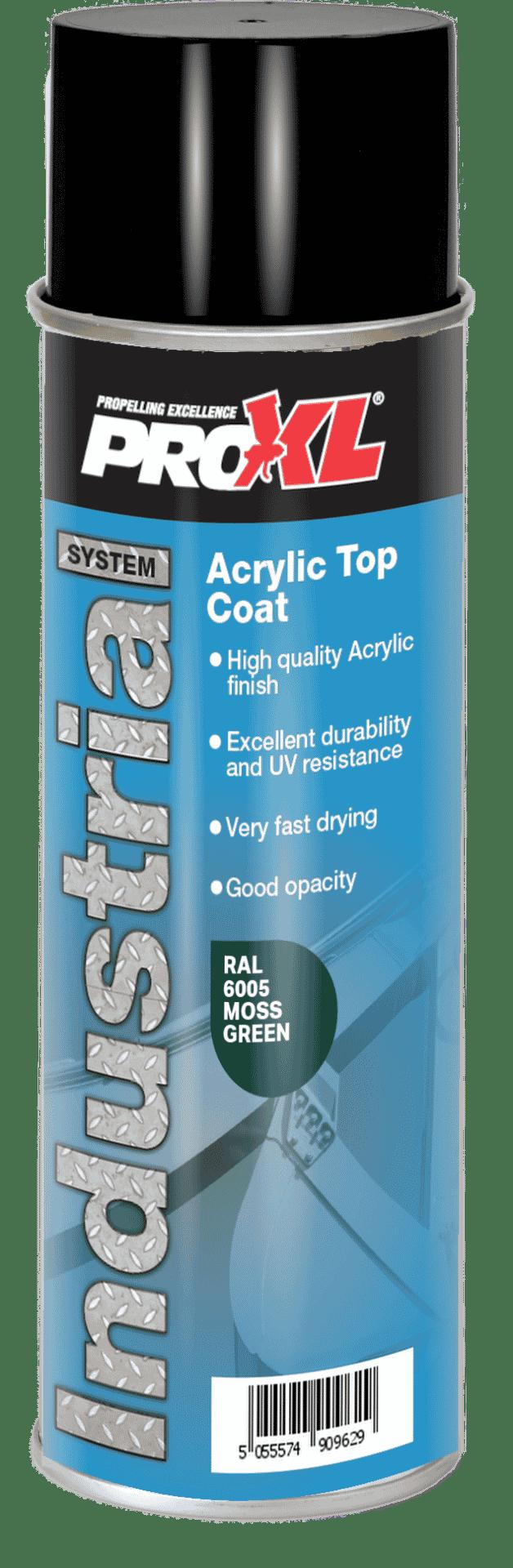 Acrylic Topcoat Aerosol – Pipeline Colours (500ml) Product Image