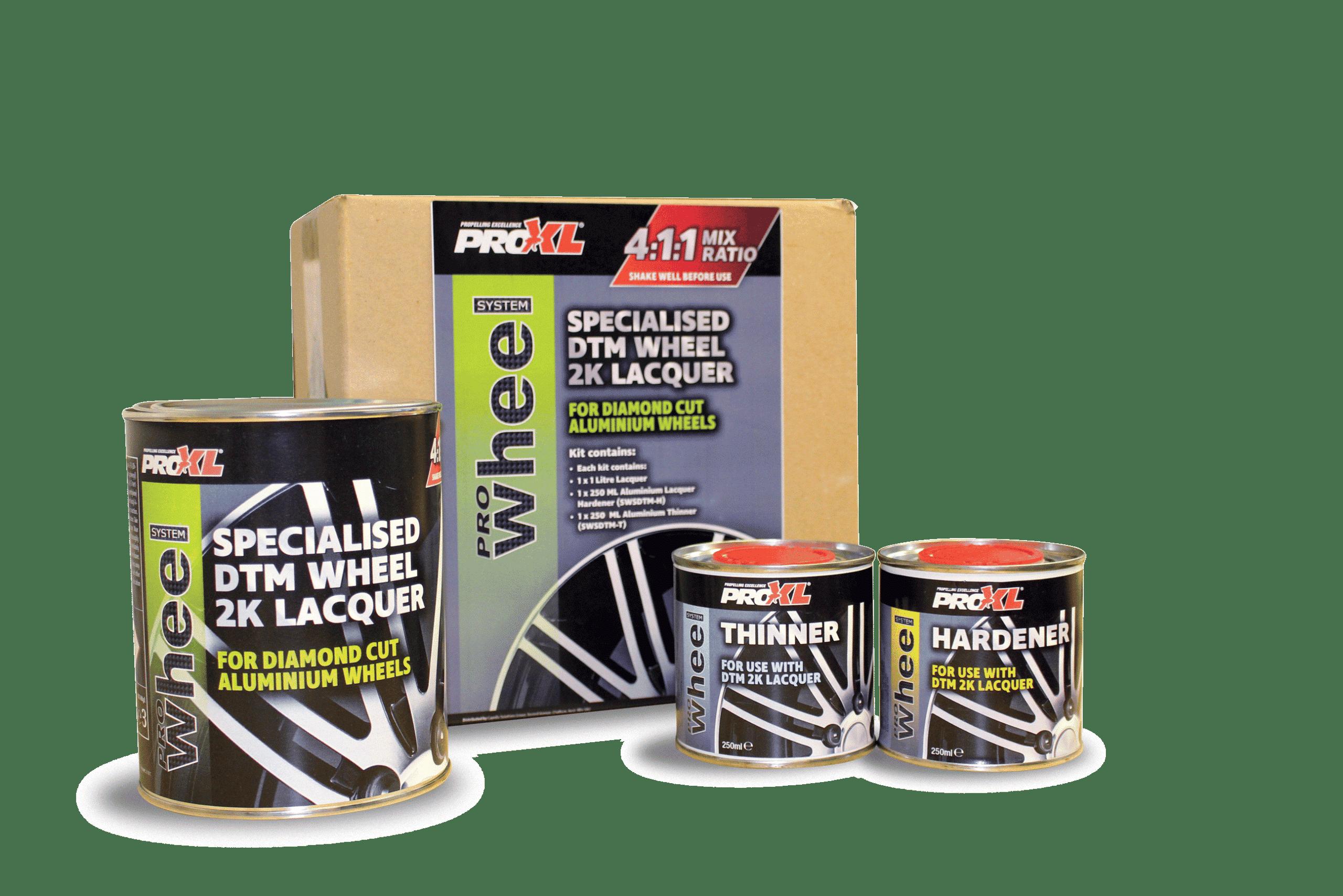 ProWheel DTM Aluminium Satin Lacquer Kit (1.5lt) Product Image